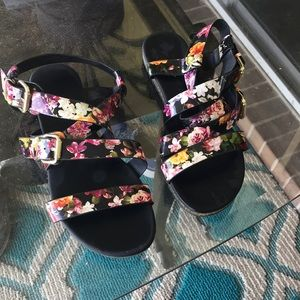 Christian Siriano Shoes - Floral sandals